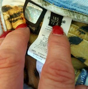 Roberto Cavalli Jeans - Roberto Cavalli acid light washed flare jeans 38/8